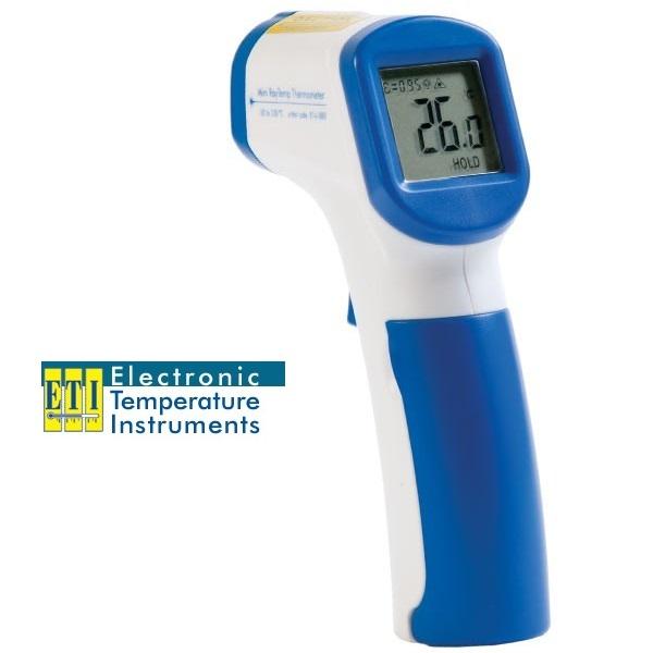 Termometro digital infrarrojo -50 a 330ºC ETI.